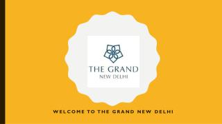 A 5 Star Luxury Hotel in New Delhi