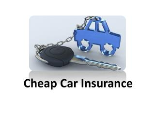 3 Top Tips for Cheaper Car Insurance