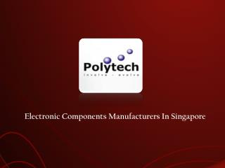 Electronic Components in Singapore
