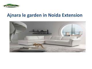 Ajnara le garden project in noida extension