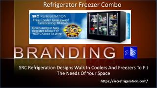 Commercial Refrigerator Freezer Combo