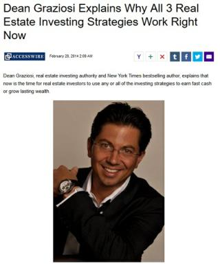 Dean Graziosi Explains Why All 3 Real Estate Investing Strategies Work Right Now