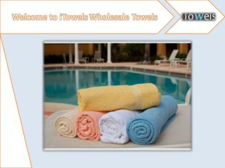 Resort Pool Towels Supplier