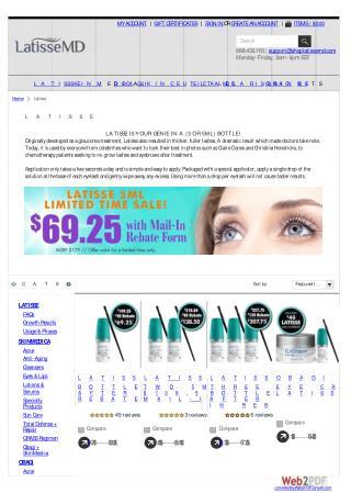 Buy Latisse Online | Latisse.MD