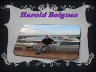 Harold Boigues