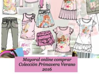Mayoral online comprar Colección Primavera Verano 2016