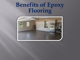 Benefits of Epoxy Flooring