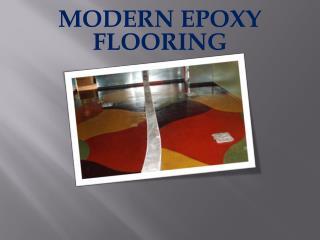 MODERN EPOXY FLOORING