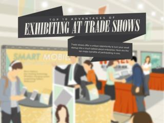 Top 10 Advantages of Exhibiting at Trade Shows