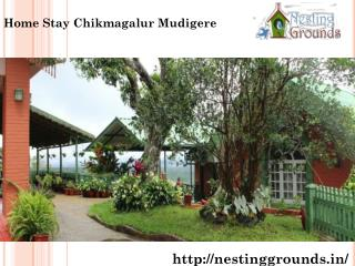 Home Stay Chikmagalur Mudigere