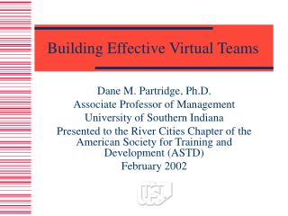 Building Effective Virtual Teams