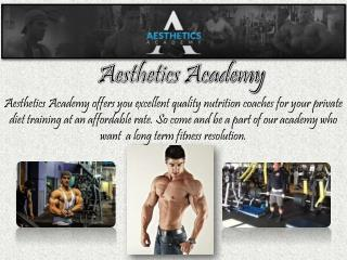 Quality Nutrition Trainer Online by Aesthetics Academy