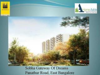 Sobha Gateway Of Dreams Bangalore