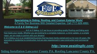 Asphalt Roofing, Replacement Windows and Doors, Shutter, Seamless Gutter, Garage Doors Installations, EPDM Rubber, Vinyl