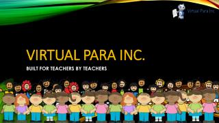 Virtual Para - Created For Education Business