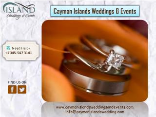 Read why Cayman Islands is a perfect place for destination wedding
