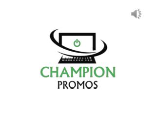 Get Custom Promotional Shirts at Competitive Prices at Champion Promos