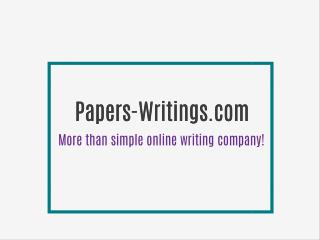Papers-Writings.com