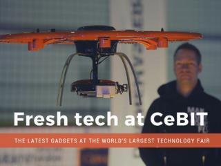 Fresh tech at CeBIT