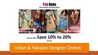 Indian & Pakistani Clothes