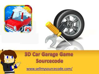 3D Car Garage Fun Game Sourcecode