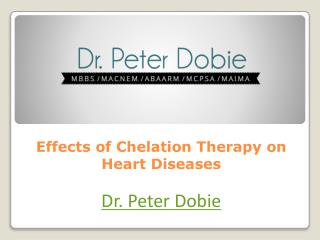 Effects Of Chelation Therapy On Heart Diseases