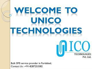 Bulk SMS Service Provider In Faridabad- Unico