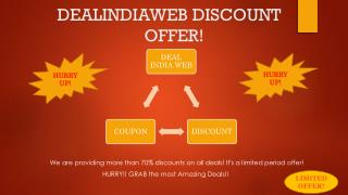 Dealindiaweb | Discount Voucher Code | Discount Coupon | Coupon Code