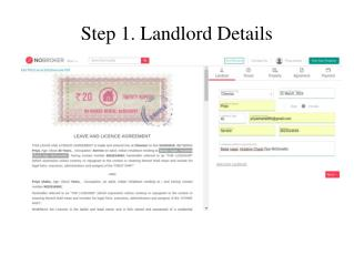 rental agreement bangalore stamp paper