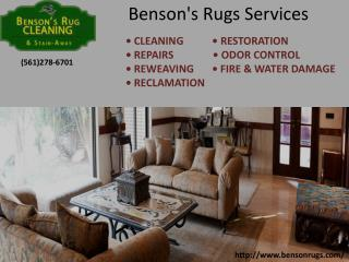 Benson Rugs: 14 STEP CLEANING PROCESS