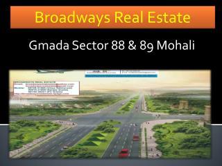 Gmada Sector 88 & 89 Mohali, 1 Kanal plot in Gmada 88-89, Gmada Landpooling Plots 88/89