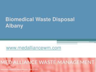 Biomedical Waste Disposal Albany - www.medalliancewm.com