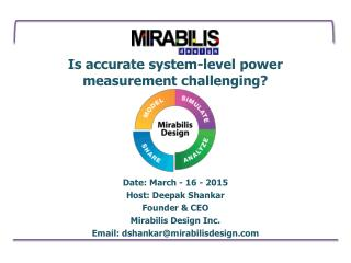 Is accurate system level power measurement challenging? Check this out!