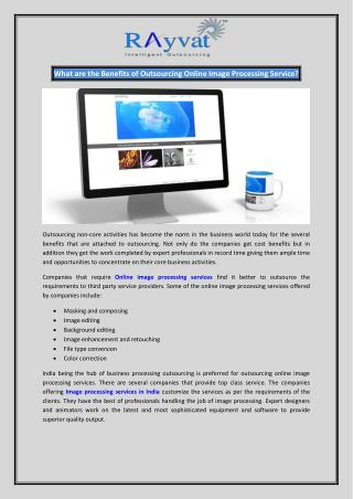 Online Image Processing Services