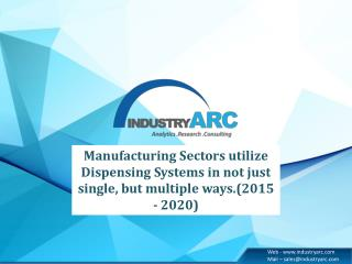 Dispensing System  Analysis 2016-2020 Development Trends