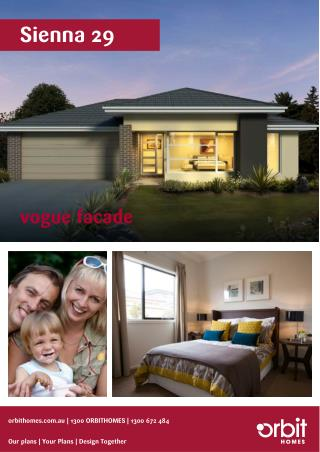 Sienna 29 – Signature Homes Australia | Orbit Homes