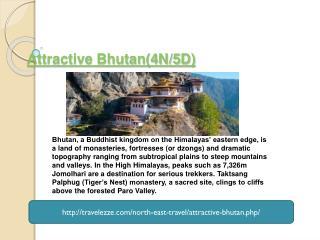 Attractive Bhutan(4N/5D)