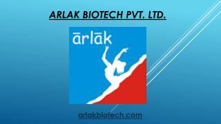 Arlak Biotech | Best Pharma Company in Chandigarh