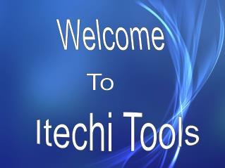 Free Online iTechi Tools