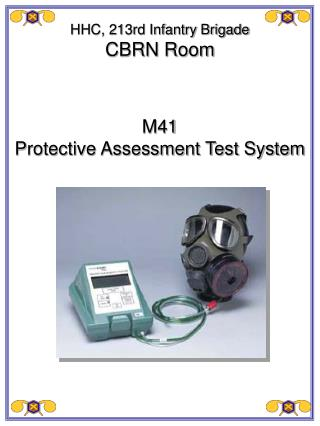 M41 Protective Assessment Test System