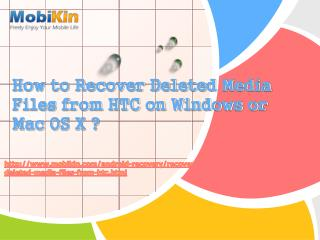 How to Recover Deleted Media Files from HTC on Windows or Mac OS X