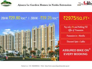 Ajnara Le Garden Homes in Noida Extension