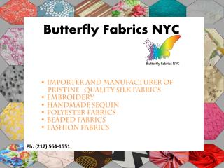 Buy Silk & Cotton Fabrics Wholesale Online | Fabrics Stores NYC