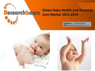 Global Baby Health and Personal Care Market 2015-2019