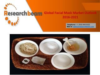 Global Facial Mask Market Outlook 2016-2021 Report