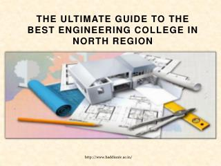 Best Engineering College in North Region