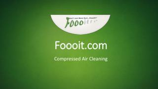 Compressed Air Cleaning - Foooit.com