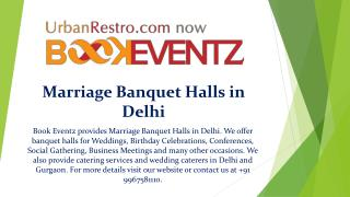 Marriage banquet halls in delhi