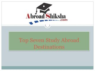 Study in UK, Study Abroad Program