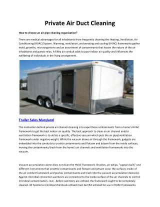 Horse trailers Maryland